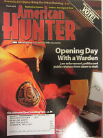 American Hunter Magazine March 2009 Opening Day with a Warden Law enforcement