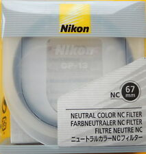 Nikon 67mm NC (neutral color) Filter UPC 18208 02288 5 Genuine made in Japan