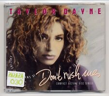 Taylor Dayne Maxi-CD Don't Rush Me - German 4-tr.  1988 - 661 687 - Picture Disc