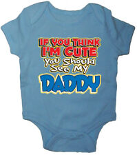 Funny baby shirt Dad saying cute daddy tee shirt romper one piece boys