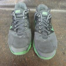 Nike Lunarglide+ 2 Men's Gray Yellow Running Training Shoes Size 10 (J3)