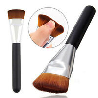 Pro Flat Head Brush Makeup Cosmetic Blush Contour Foundation Brushes Beauty Tool