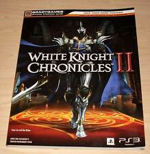 White Knight Chronicles II 2 - Bradygames Official Strategy Guide (Lösungsbuch)