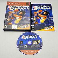 NBA Street Greatest Hits (Sony PlayStation 2, 2001) CIB Complete