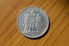 FRANCIA MONETA 5 franchi REPUBLIQUE FRANCAISE 1876 ARGENTO SUBALPINA