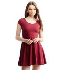 Vestiti da donna tubini rossi in cotone