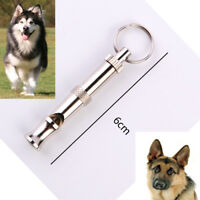 Pet Dog Puppy Pet Training Whistle Adjustable Sound Silent Ultrasonic 55mm*7mm