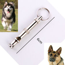 Dog Puppy Pet Training Whistle Silent Ultrasonic Adjustable Sound Hot 55mm*7mm