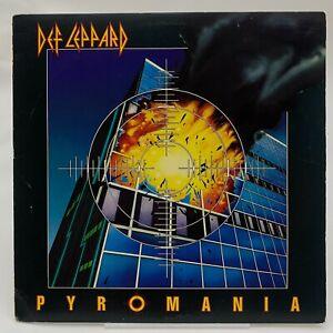 Def Leppard Pyromania Mercury 810 308-1 M1 VG+ cover VG+ vinyl LP 1983