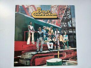 1st Press UK Soul Funk LP Mispressed Label Brass Construction 1975 EX+