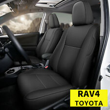 For 2013 2018 Toyota Rav4 Leather Seat Covers Front Amp Rear Row 5 Seats Cover