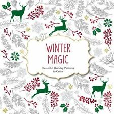 Color Magic: Winter Magic : Beautiful Holiday Patterns to Color (2015, Paperbac…