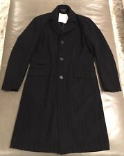 NWT Theory Mens Forbes Cashmere Wool Full Length Overcoat Topcoat Small $995