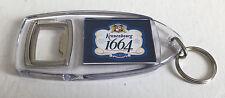 KRONENBOURG 1664 BOTTLE OPENER KEYRING - KEY RING - BAR PUB LAGER HOME BAR