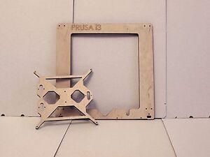 3D Printer Reprap Prusa I3 Frame Front Plate Laser Cut 6mm PlyWood