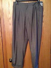 Dockers 38W X 30L Pants Grey Sharkskin 010 Style 12D81011 Cut 768 New With Tags