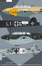 Authentic Decals 1/48 Messerschmitt Bf110D Luftwaffe # 4840