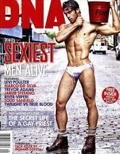 DNA Magazine #128 gay men Sexiest Men Alive 2010 LEVI POULTER NICK AYLER