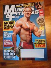 MUSCLE & FITNESS bodybuilding magazine/BRANDON WHITE & BROOKE MORA 12-10
