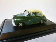 OXFORD DIECAST 1:76 OO GAUGE MORRIS MINOR CONVERTIBLE 76MMC003  [MINT AND BOXED]