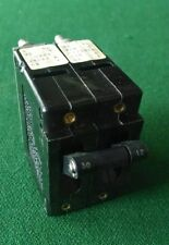 Airpax Circuit Breaker UPL15-3320-2 2-Pole V250AC 50A 12A Double New
