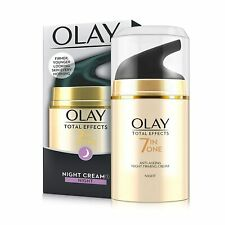 Olay Total Effects 7 in 1 Anti Ageing Night Firming Cream, 50g - Free Shipping