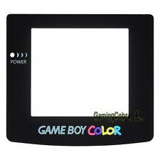 For Nintendo Game Boy Color GBC Glass Lens Screen Replacement Repair Part Black