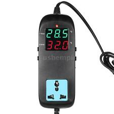 Digital LED Thermostat Temperature Controller Socket for Aquarium Fish Tank Z3I1