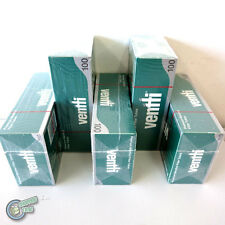 500 x Ventti Menthol Empty Tobacco Cigarette filter tubes king size cork filler