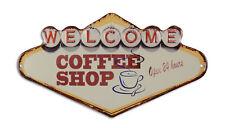 Sammeln & Seltenes Sammler-Werbeschilder Rooster Brand Coffee Kaffee Blechschild Flach Neu aus USA 31x40cm mit Bset