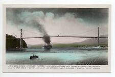 CANADA carte postale ancienne VANCOUVER the lions gate bridge