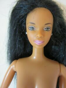 Black African Christy Barbie Twist and Turn Body jointed arms - QY
