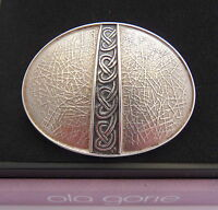 Scottish Silver Celtic Knot Brooch Ola Gorie