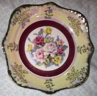 Antique Bowl - Floral with Gold Trim - Made In Japan