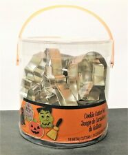 HALLOWEEN Cookie Cutter Set - WILTON - 18 Metal Cutters - SEALED