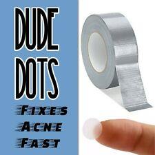 Dude Dots • The Duct Tape for Man Skin • Acne Healing Skin Patches • Fast Fix
