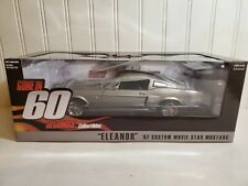 Greenlight Gone in 60 Seconds 1967 Shelby GT 500 Eleanor 1:18 Scale Diecast Car