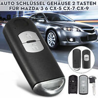 For Mazda 3 CX-3 CX-5 Remote Control Car Key Cover Shell Case Fob Housing Cover
