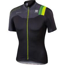 Sportful BodyFit Pro Team Full Zip Cycling Jersey Black