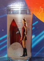 Star Trek Uhura Collectible Glass 2008 new in box Burger King Glass Collection