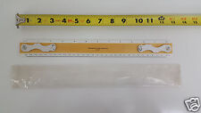 NOS Southern Photo Print & Supply Co Drafting Machine Scale Ruler 2460 Wood 12