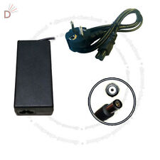 AC Laptop Charger Adapter For HP COMPAQ NC6320 NC6400 + EURO Power Cord UKDC