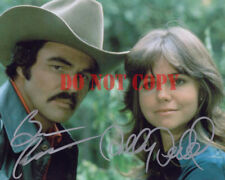 Burt Reynolds Sally Field Smokey and the Bandit Autographed 8x10 Photo Reprint
