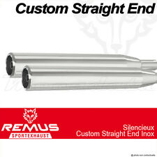 Silencieux Pot échappement Remus Straight End Inox Harley-Davidson Dyna FD2 11-