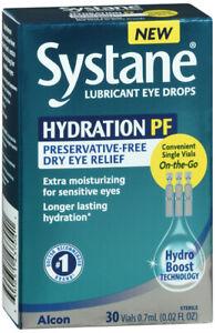 Systane Hydration PF Lubricate Eye Drop 30 count