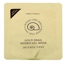 TONY MOLY Intense Care GOLD Snail HydroGel Mask  *Contains Gold Ingredients* 1pc