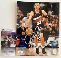 NBA Jason Kidd Autographed Phoenix Suns 8x10 Photo Signed Basketball JSA COA