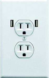 [10-Pack] Fake Electrical Outlet Sticker Funny Prank & Gag Gift by Witty Yeti