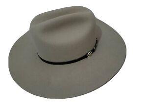 Men's Cowboy Hat Cavenders Larry Mahan's  Collection 7 1/8 XXX White Pelt