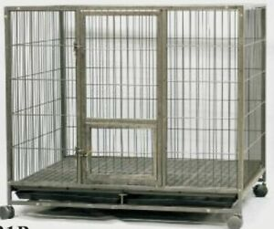 SPP Exports Dog Cage (Crate) L-48 inches,W-42 inches,H-40 inches